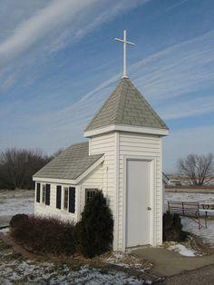Wayside Chapel - tiny church