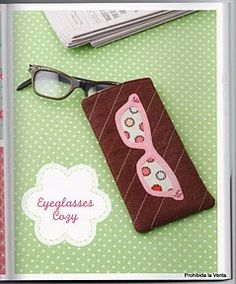 Desejo Craft: Capa para óculos em feltro