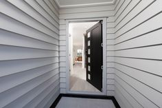 Crisp weatherboard lines Traditional Home Exteriors, Traditional House, James Hardie, Cladding, Blinds, Architecture, Crisp, Furniture, Home Decor