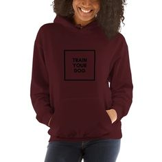Rose Basketball Hoodie - Ball like crazy with our stylish, simple but unique basketball hoodie for men or women! With this mid-weight, comfy and fashionable basketball hoodie you'll surely stand out as the pretty pedal of the crowd! Training Your Dog, Plus Size Women, Rib Knit, Hooded Sweatshirts, Hoods, Graphic Sweatshirt, Unisex, Clothes For Women, Stylish