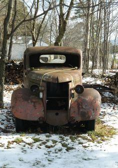 Old Ford Truck, Tupper Lake, NY, nov 15, 2013