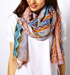 printed scarves for #spring