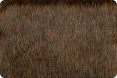 Wolf Fur Caramel/Chocolate