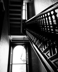 Black and White Photography Stairs Black And White Stairs, Black And White Photography, Monochrome, Photo Wall, Fine Art Prints, Interior, Home Decor, Black White Photography, Photograph