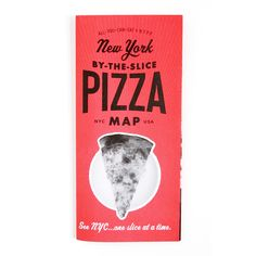 """Our Seventh publication """"New York by-the-slice Pizza Map"""" is our third  collaboration map. Written, researched and photographed by The New York  Pizza Project.  Founded by five 30-year-old native New Yorkers. They have visited over 100  city's last authentic by-the-slice pizzashops across the five boroughs,  taking photographs, and capturing the stories of patrons, employees, and  owners alike.  The map features 40 of city's importantby-the-slice Pizza shops and linked  to their photo…"""