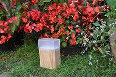 drewniana lampa ogrodowa, oświetlenie ogrodowe, 24 - Przemyslaw653 - Oświetlenie zewnętrzne