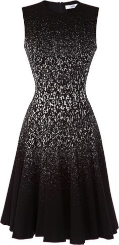 Love this: Sleeveless Jersey Fit and Flare Dress @Lyst