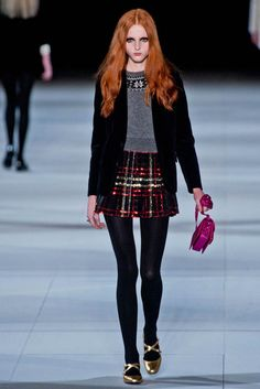 saint laurent fall winter 2014