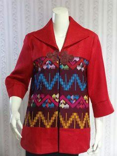 Gfh Blouse Batik, Batik Dress, Batik Muslim, Mode Batik, Batik Kebaya, African Tops, Batik Fashion, Gambrel, Brokat