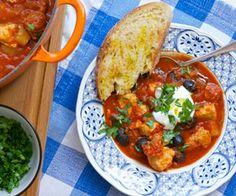 Chicken & chorizo stew slow cooker recipe