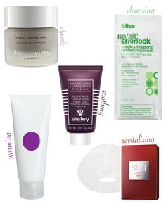 Best Masks for an At-Home Facial