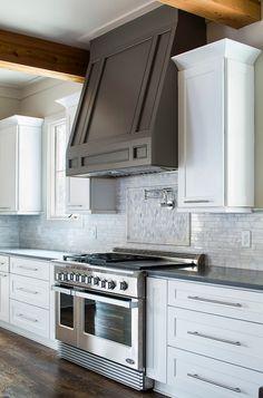Grey-kitchen-hood.-White-kitchen-cabinet-with-grey-hood.-Vikki-Werbalowsky-from-La-Bella-Vie.-