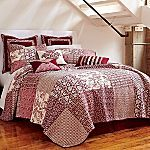 Love the mixture of patterns! Bed Spreads, Comforters, Master Bedroom, Windows, Blanket, Antiques, Bedding, Quilt, House