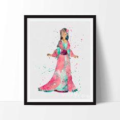 Mulan (Water Colors by VividEditions) #Mulan