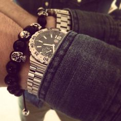 Dress down Friday, denim shirt and chinos... But don't forget to accessorise!