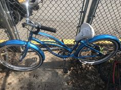 "Teal colored ""Electra"" bicycle recovered on June 2018 on Berkshire Lane. Electra Bicycles, June 22, Teal, Color, Colour, Colors"