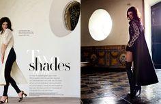 Editorial design JAN Magazine 1/2-2013 fashion
