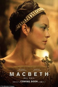 Tragic:Marion Cotillard is a Lady Macbeth haunted by the loss of a child...