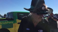 Racing legend Richard Petty visits #BrickPony