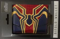 Avengers Infinity War Spider-man Iron Suit Up Marvel Gift Boxed Bifold Wallet #Marvel #Bifold