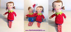 Duendes navideños con accesorios :D My Violet myvioletdesigns.com