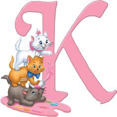 K Aristocats Alphabet (Oh My Alfabetos!)