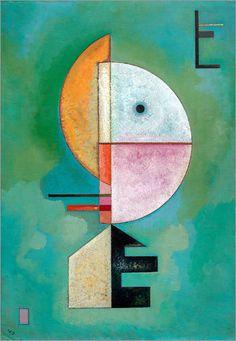 Poster / Leinwandbild Empor - Wassily Kandinsky in Möbel & Wohnen, Dekoration, Bilder & Drucke | eBay!