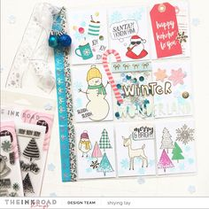 Winter Pocket Letter With Shi Ying Letter I, Pocket Letters, Hello Everyone, Washi, Joy, Winter Coming, Happy, Projects, Cards