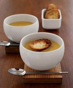 With apples, carrots, potatoes, and Cheddar cheese, this soup is layer upon layer of flavors.