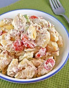 Bacon Ranch Pasta Salad ~ The Kitchen Life of ... | 101Taste