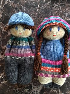 Ravelry: Andy Boy Doll pattern by Ania A. Rebeil-Martin
