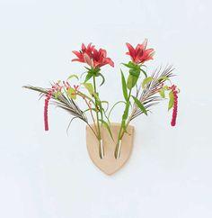 Deco-idee: een gewei van bloemen