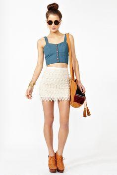 Macyn Crochet Skirt