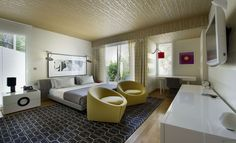 Funky Oversize Rug Idea Feat Modern Bedroom Chairs Also Floating Bed Design And White Nightstand