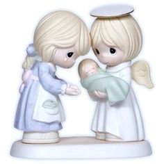 Mommy's Love Goes With You Precious Moments Figurine  (there are a few other ones appropriate for child loss)   Just got mine in the mail l0/29/12 & it has Shayne name & date. Love it