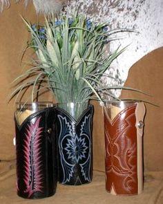 Boot Top Vase