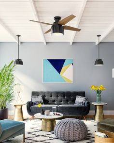 Save 20% on ceiling fans by Hunter at LightsOnline throughout the month of September. Just use promo code HUNTER20 at checkout. Hunter has been creating exceptional ceiling fans for over 100 years - since the Hunter family helped invent the ceiling fan. From stylish indoor ceiling fans to durable outdoor fans, Hunter now offers a wide selection of fans to complete your home renovation project. 20% off ends 9/30/20. Hunter Fans, Ceiling Fans, Home Renovation, The Selection, Bring It On, Indoor, Room, Projects, Interior