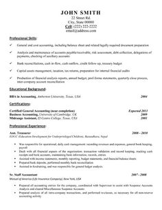 Assistant Treasurer resume template. Want it? Download it.