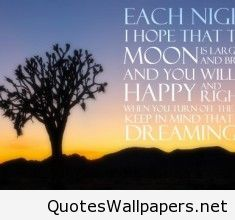 Good Night Best Quote For Mobile Phones 2016