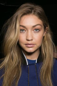Hadid News || Your best and ultimate source for all things about the Hadid sisters  - October 3: Gigi Hadid backstage at Elie Saab SS16...