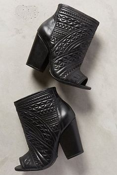 Schutz Pietra Booties #anthrofave
