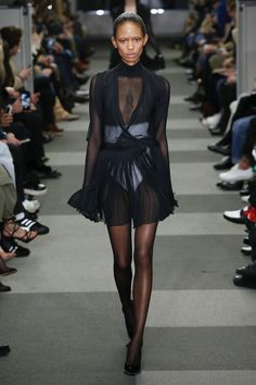 wish this was a double breasted suit jacket dress but still love it all the same  Alexander Wang Fall 2018 Ready-to-Wear
