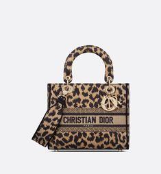 Motif Leopard, Leopard Bag, Leopard Pattern, Paisley Embroidery, Embroidery Bags, Christian Dior, Blouse Transparente, Sac Lady Dior, D Lite