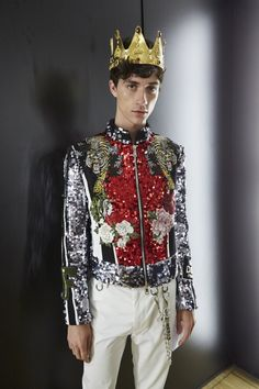 Jacob Bixenman x Dolce and Gabbana. Oh my god. LOOK AT THIS PIECE OF ART.