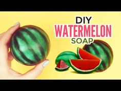 DIY: Watermelon Soap - YouTube