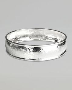 Ippolita Hammered Silver Bangle