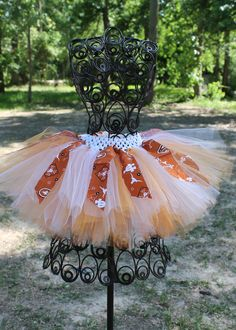 Texas Longhorns Tutu