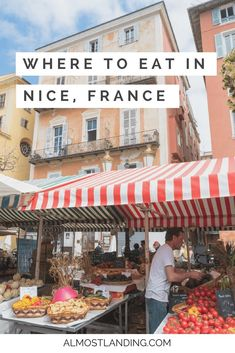 What to eat in Nice, France? Here are our favourite picks! food restaurant france travel south of france cote d'azur provence france trip to france Nice, Visit France, South Of France, Nice Riviera, Saint Martin Vesubie, Nice Cote D Azur, Cap D Antibes, Beste Burger, Travel Tips