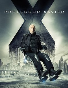 Actually, it's based on his latest film version. He had a hover chair in X-Men: Days of Future Past. ...