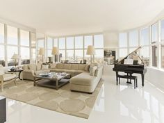 Penthouses: Upper East Side Penthouse, Manhattan, New York  © Courtesy of Sotheby's International Realty  Click the picture for more!